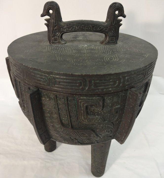 Decorative Asian Style Ice Bucket - 2