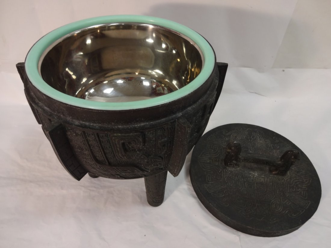 Decorative Asian Style Ice Bucket - 6