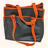 Vintage Ralph Lauren Leather Handle Satchel Bag