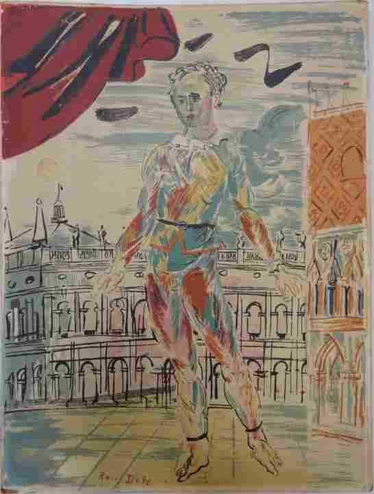 Raoul Dufy Lithograph Poster