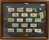 Framed Aircraft of the RAF Cigarette Cards