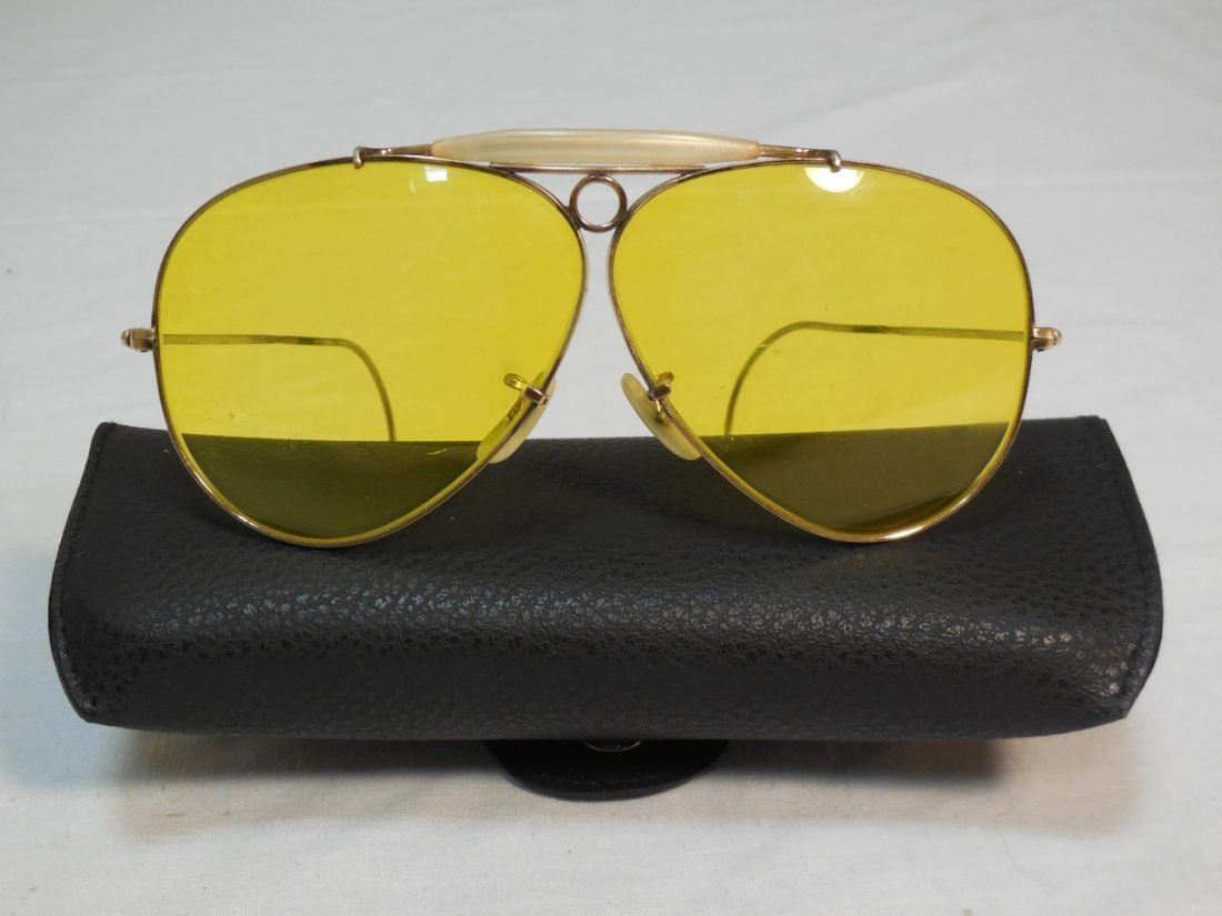 Pair of WW II Fighter Pilot Ray Ban Glasses
