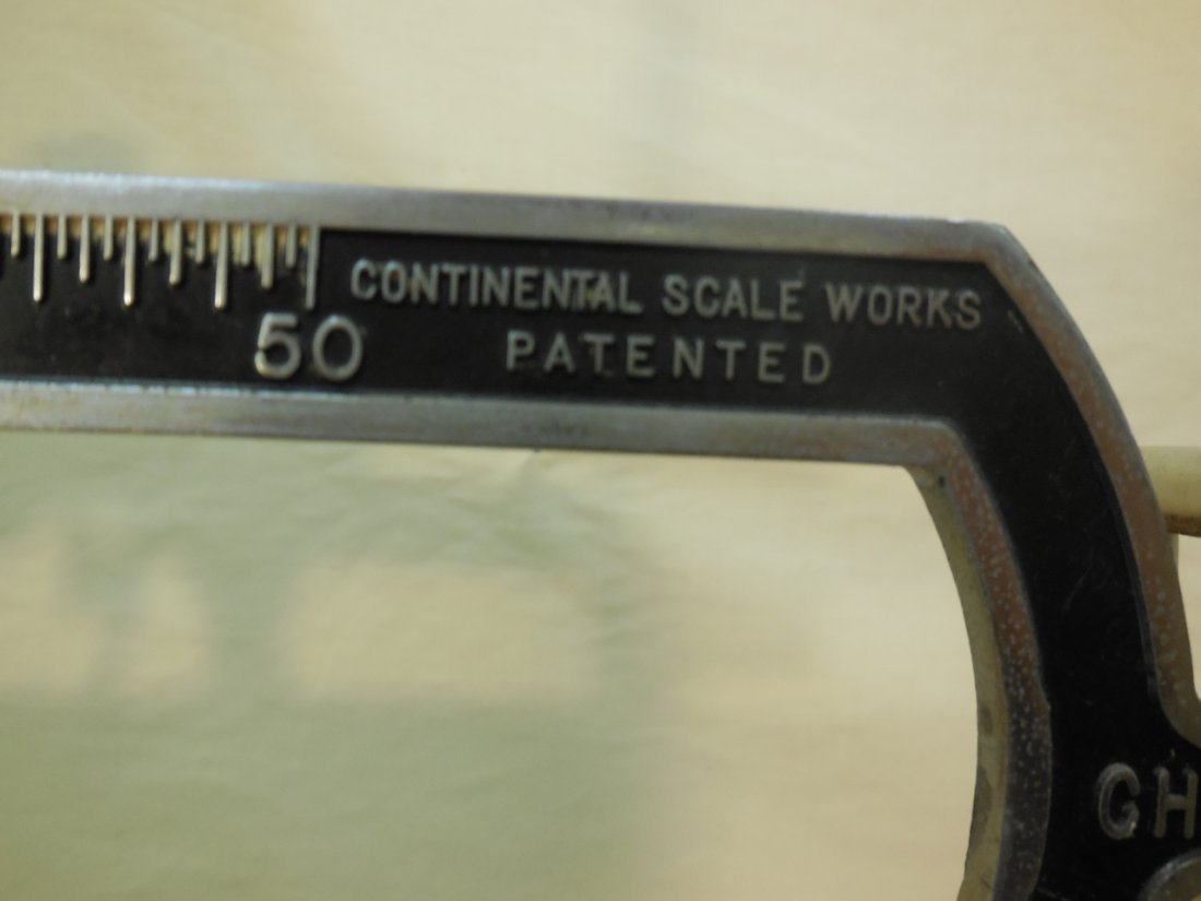 Vintage Continental Scale Works Medical Scale - 7