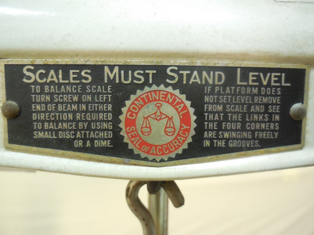 Vintage Continental Scale Works Medical Scale - 8