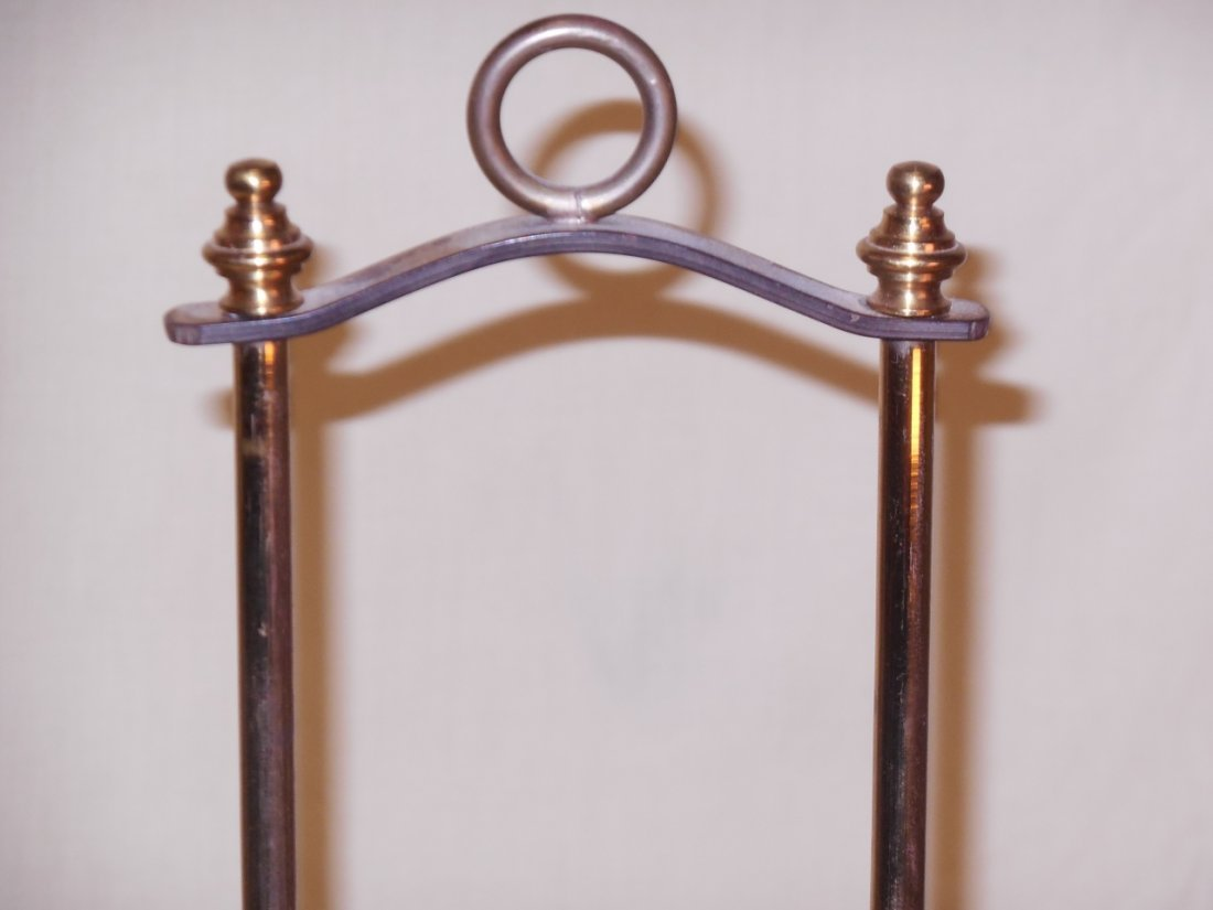 Brass Hurricane Candle Holder - 3
