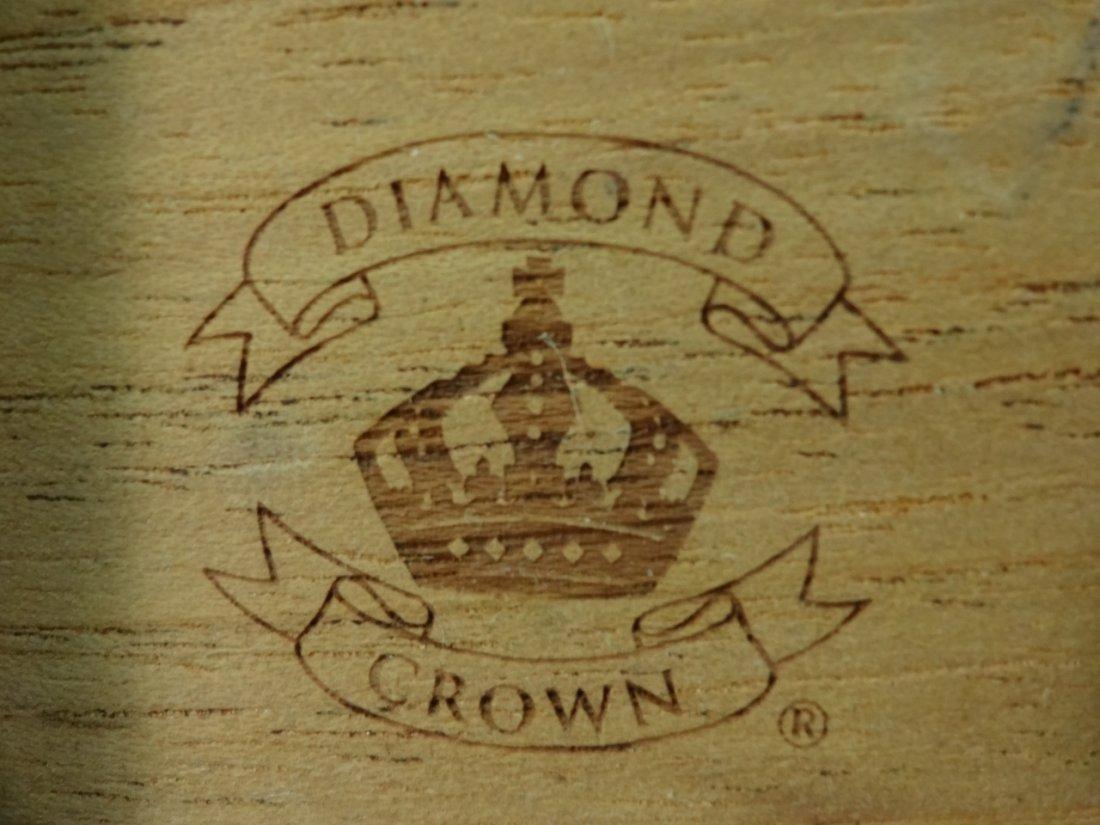 Nat Sherman Mahogany Diamond Crown Humidor - 5