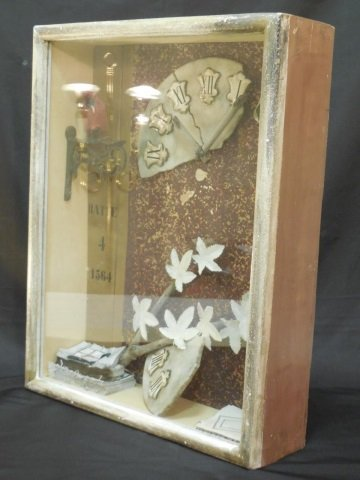 Surreal School Shadow Box Assemblage Art Piece - 2