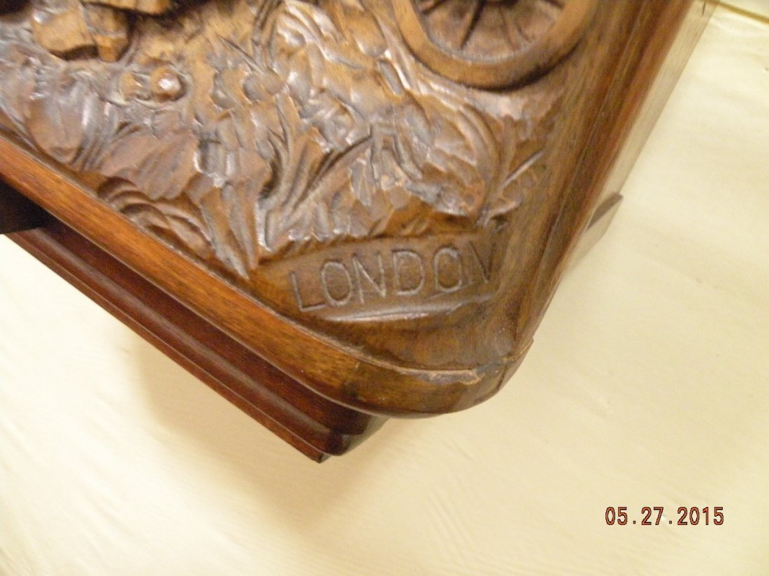 Antique Westminster Clock - Millet L'Angelus Scene - 10
