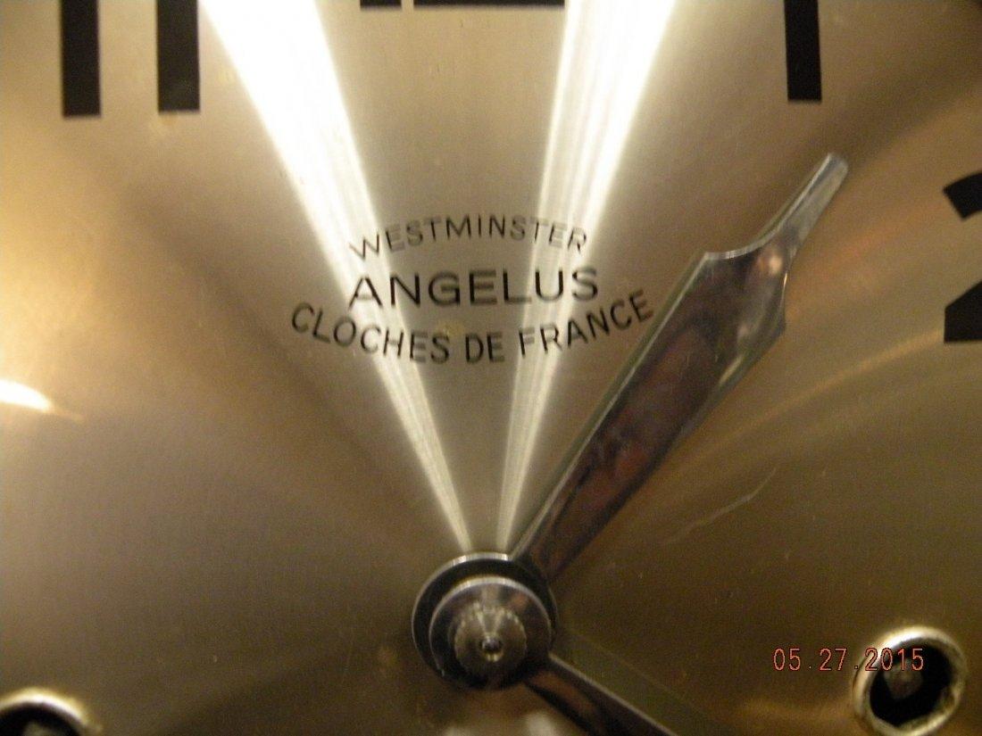 Antique Westminster Clock - Millet L'Angelus Scene - 6
