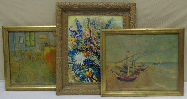 Vincent Van Gogh - Group of Three Framed Prints