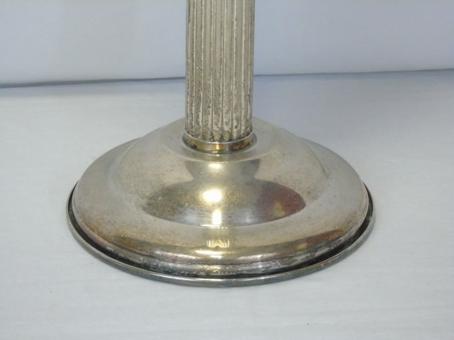 Vintage Silver Plate Champagne Bucket on Stand - 8