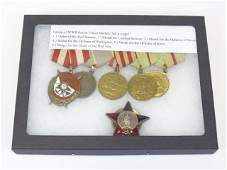 Lot of WWII Soviet Union Medals