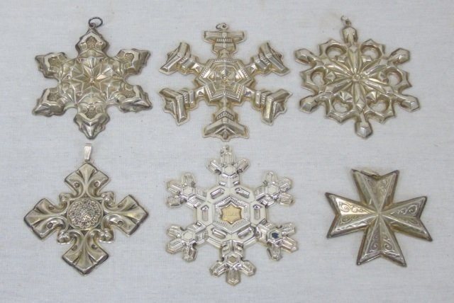 Gorham / Reed & Barton Sterling Silver Ornaments