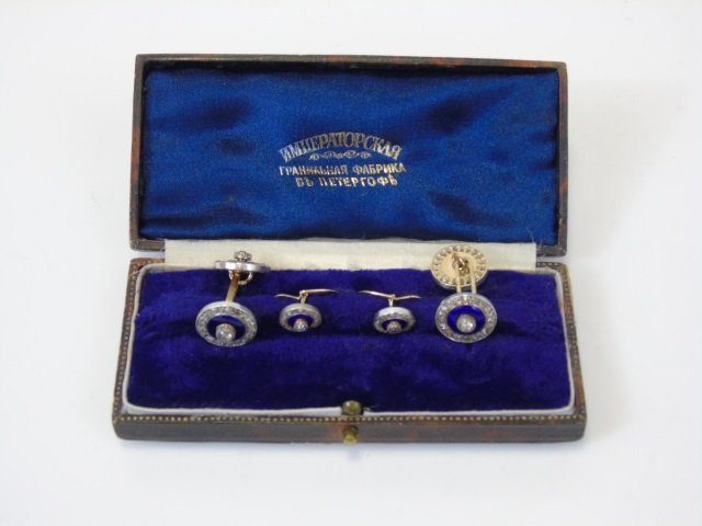Antique Imperial Russian Faberge Jewelry