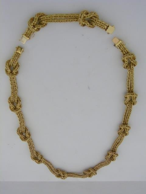 Important Mario Buccellati 18kt Gold Necklace - 10