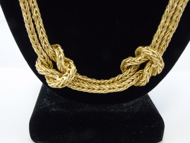 Important Mario Buccellati 18kt Gold Necklace - 3