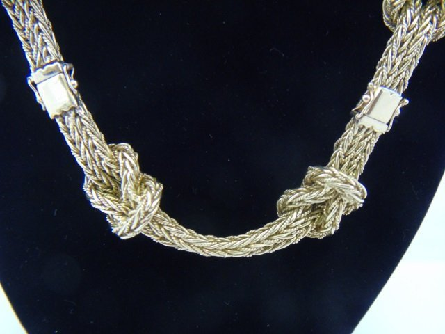 Important Mario Buccellati 18kt Gold Necklace - 6