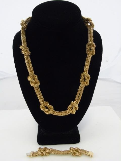 Important Mario Buccellati 18kt Gold Necklace - 7