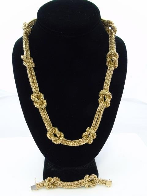 Important Mario Buccellati 18kt Gold Necklace - 8