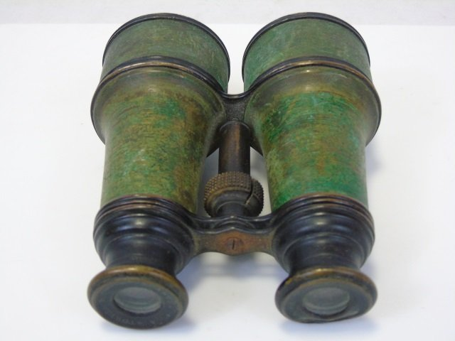 Antique A Stowell & Co Boston Binoculars