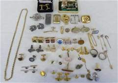 Assorted Antique  Vintage Gentlemans Pieces
