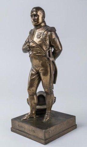Jean-Auguste Barre Antique Napoleon Bronze Statue