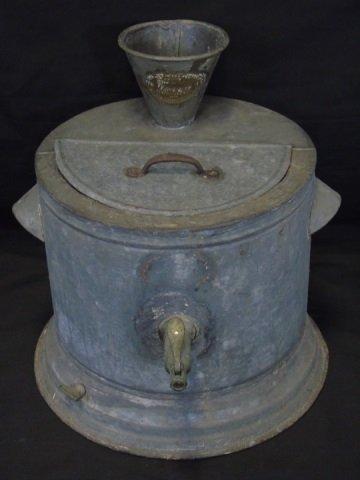 Antique Aluminum Useeit Water Cooler - Oct 25, 2015 | Greenwich
