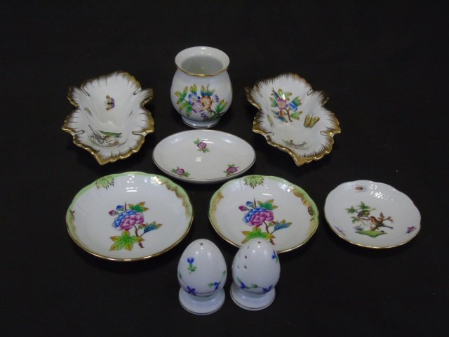 Herend of Hungary - Porcelain Table Articles