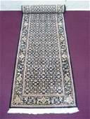 Oriental Persian Wool Carpet Runner 98 X 28