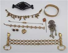 Collection Victorian & Edwardian Jewelry Items
