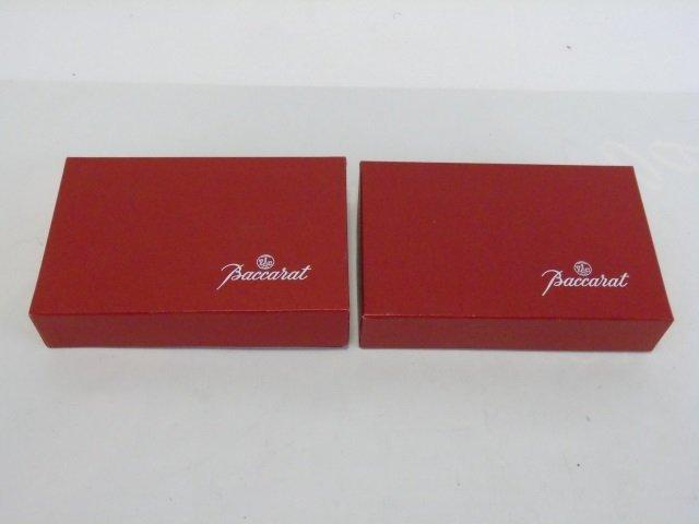 Boxed Set of Baccarat Crystal Knife Rests - 7