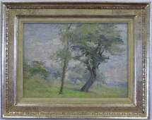 American Impressionist Landscape Oil Painting