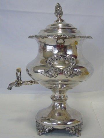 Early 20th Century Silver Plate Samovar