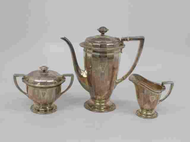 Antique Tiffany & Co Sterling Silver Tea Set