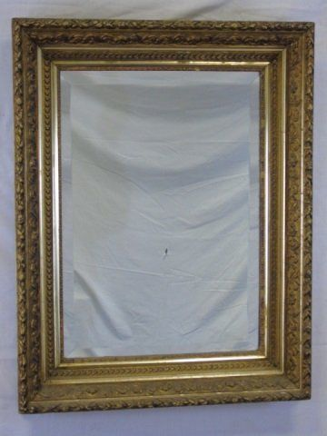 19th Century Carved Gilt Wood Frame Mirror