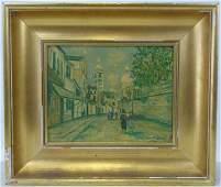 Maurice Utrillo Print of Montmartre 1937