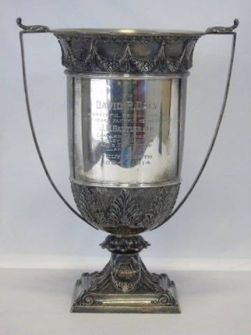 Antique Black Starr & Frost Sterling Trophy Cup