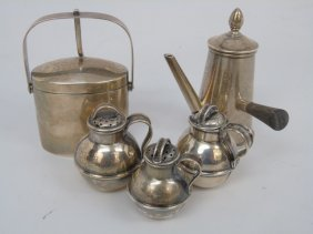 Assorted Sterling Silver Small Table Articles