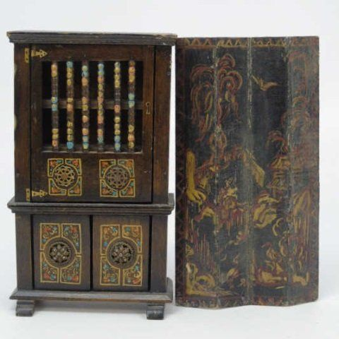 Antique Dollhouse Furniture Items By Tynietoy Feb 14 2016 Greenwich Auction In Ct