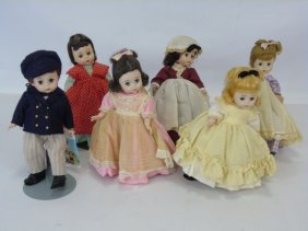 "Madame Alexander-kins Dolls ""little Women"" 1970's"