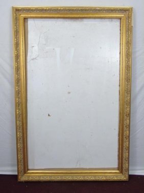 Large Carved Gilt Wood Frame