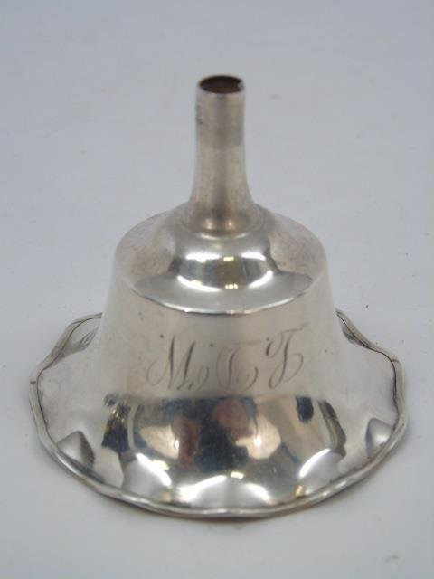 Antique Sterling Silver Perfume Funnel