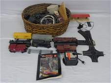 Vintage Lionel OScale Trains Cars  Lots of Track