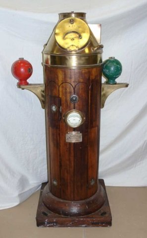 Large Nautical Ship Binnacle Compass by Sestrel