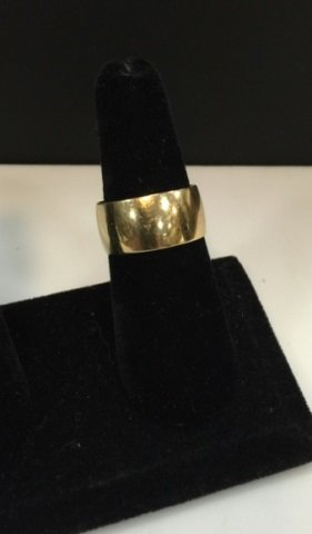 Estate 14kt Yellow Gold 10mm Ring / Band