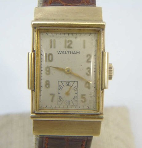 Estate 14kt Yellow Gold Waltham Watch