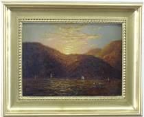 John Frederick Kensett - Lake George Oil Painting