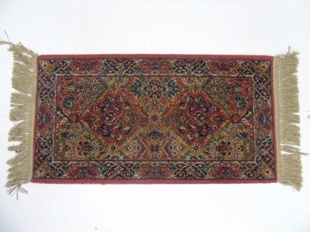 Vintage Wool Persian / Oriental Throw Rug / Runner