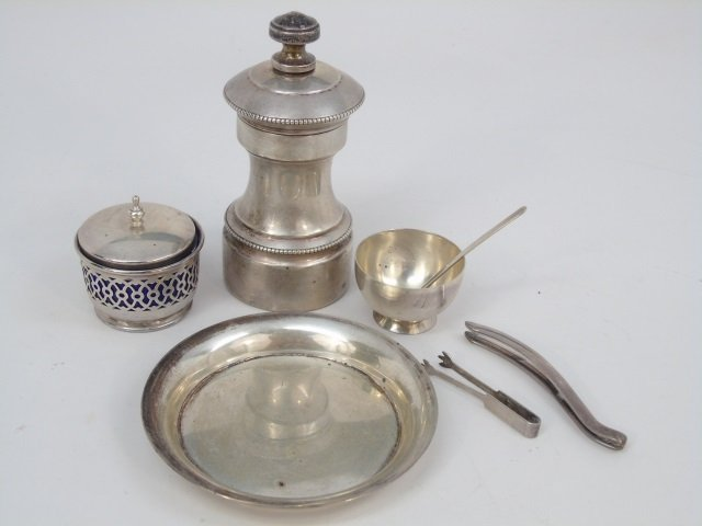 Assorted Silver & Sterling Table Serving Items