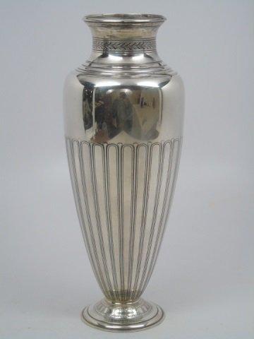 Antique Tiffany & Co. Sterling Silver Urn Vase